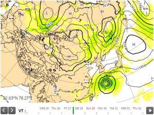 台風22号ヨーロッパ1